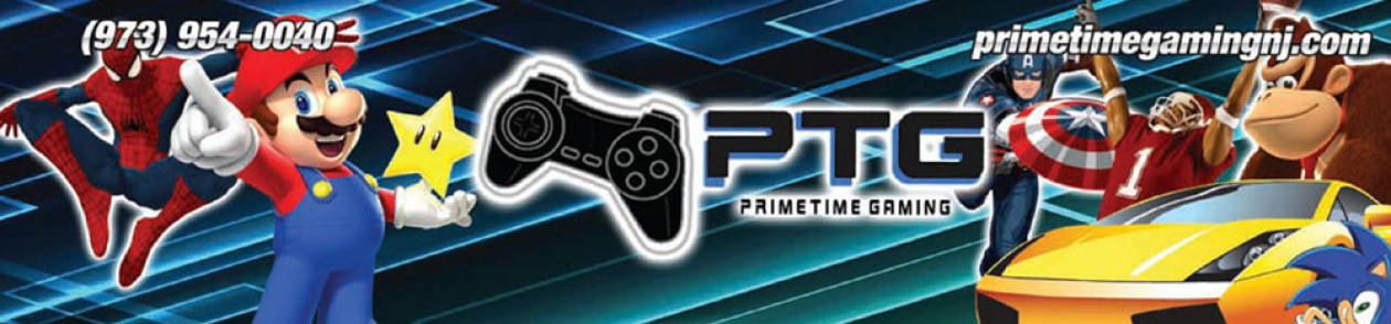 Primetime Gaming – New Jersey Video Game Truck Birthday Parties & More!