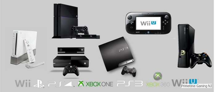 We've got the best video game consoles...